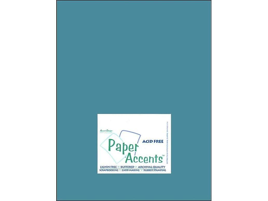 Accent Design Paper Accents Cdstk Muslin 8.5x11 74# North Sea