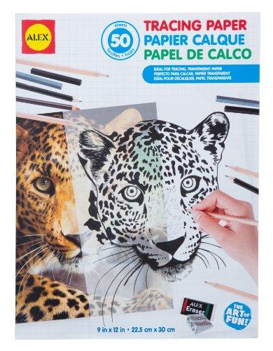 ALEX Toys Artist Studio Tracing Paper – 50 Sheets