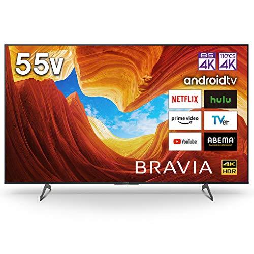 ソニー 55V型 液晶 テレビ ブラビア 4Kチューナー 内蔵 Android TV KJ-55X8550H (2020年モデル)