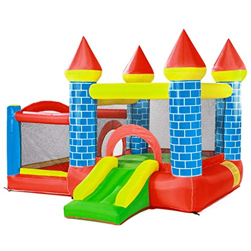 Toboganes independientes Juguetes Para Niños Castillo Hinchable ...