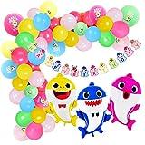 Kreatwow Ensemble de guirlandes de Ballons de Requin - décorations de fêtes - Boule...