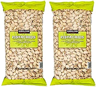 Kirkland Signature California In-Shell Roasted & Salted Pistachios: 2 Pack (6 lbs)