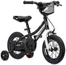 top 10 schwinn bikes toddlers Schwinn Koen Boys bike for toddlers and kids, 12 inch wheels, black