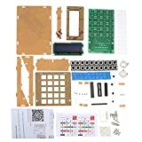 Walmeck Calculator Counter Calculator DIY Kit with Acrylic Case LCD Display Multi-purpose Electronic Calculator Counter