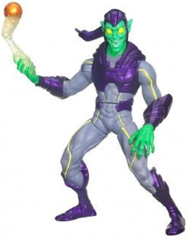 Hasbro Spider Man Web Battlers  CLASSIC GREEN GOBLIN BATTLER