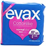 Evax Cottonlike Normal Compresas con Alas - 16 unidades