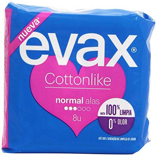 Evax Cottonlike Normal Compresas con Alas - 16 unidades