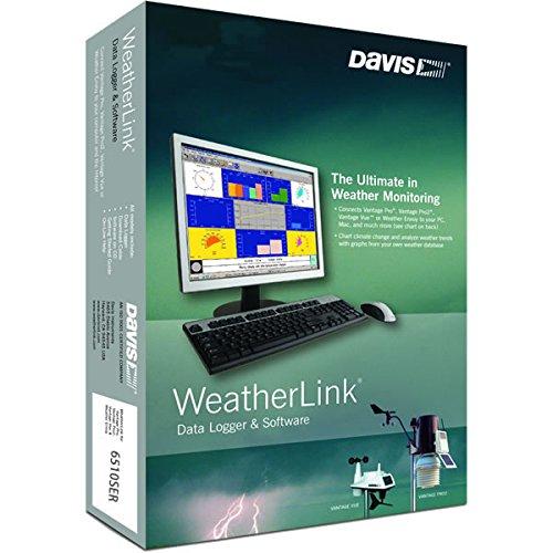 Davis Instruments 6510SER Software w Vantage outlet Limited time for free shipping Logging Pr Data for