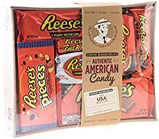 Holland Plastics Original Brand King Sized Authentic American Assorted Hamper - All Your Favourite Pieces of Reeses, Gift Packaged.