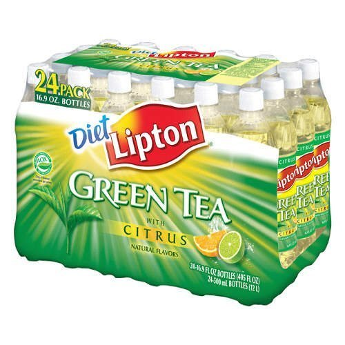 Lipton Diet Green Tea, 16.9 Ounce (24 Bottles)