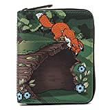Loungefly Disney Fox and Hound Copper Tod Wallet