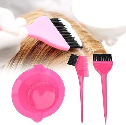 3pcs/set Pincel de color de tinte para el cabello y conjunto ...