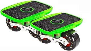 Drift Skates, Skate Board PU Wheels with 608 High-end Bearings Wear-Resisting Non-Slip Adult Children
