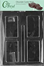 Cybrtrayd Life of the Party BC021 Plain Card Business Card Chocolate Candy Mold in Sealed Protective Poly Bag Imprinted wi...