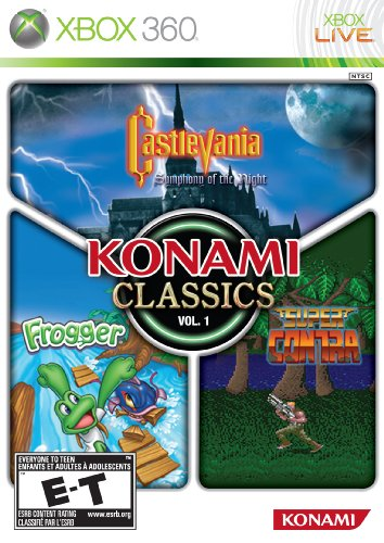 Konami Classics Volume 1 - Xbox 360 Castlevania Symphony Of The Night Playstation