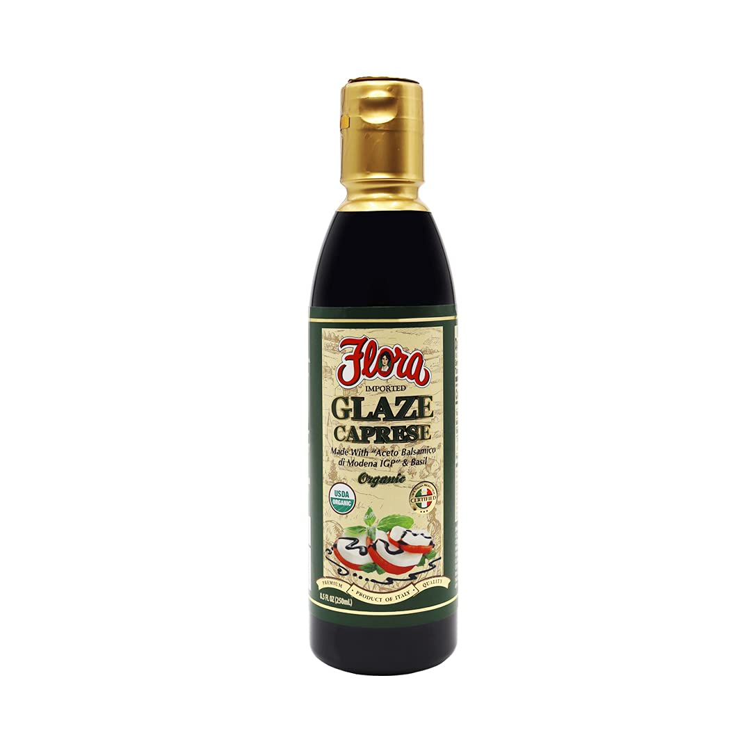 Flora Foods Outlet sale feature Balsamic Glaze Basil 250ml - Wholesale Caprese