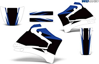 Wholesale Decals Yamaha TTR 125 2000-2007 with Rim Trim and Number Plates Midnight Race Design