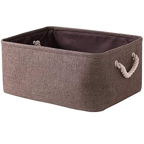 Storage mand wasmand vierkante mand toy opbergmand geschikt voor dagelijkse benodigdheden zoals handdoeken en