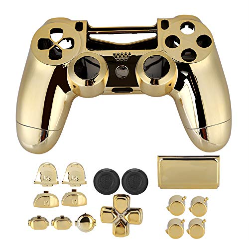 Kunststoff Game Pad Shell Cover, Griff Gehäuse Shell Cover Controller Hard Case für PS4 Slim
