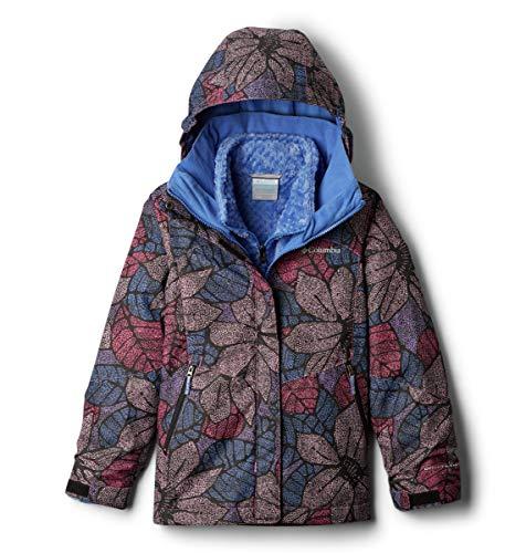 Columbia Girls Bugaboo Ii Fleece Interchange Jacket, Arctic Blue Flower Doodle, Arctic Blue, Small