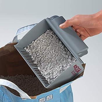 keddii Scoop 02227XL Pelle à Litière   Pelle à Litière Passoire Taille anpass Bar (Litière et Toilette/Chat)   jusqu'à 10x Plus de Volume comme habituel Pelle ramasse-crottes