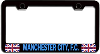 JIHUILAI F.C Barcelona Footall Team License Plate Cover Aluminum License Plate Soccer Fans Front License Plate 6X12 inches