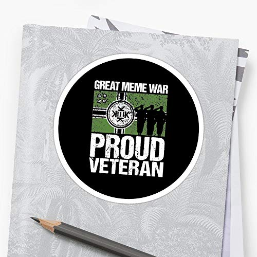 k-e-k-i-s-t-a-n Meme War Veteran Sticker (3 Pcs/Pack) Perfect for Water Bottle, Laptop Phone