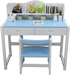 Juegos de mesas y sillas Mesa de estudio para niños y combinación de silla en casa mesa elevadora para estudiantes escritorio de madera maciza escritorio de lectura escritorio para estudiantes escrito
