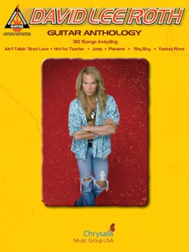 David Lee Roth - Guitar Anthology Songbook (Recorded Versions Guitar) (English Edition)