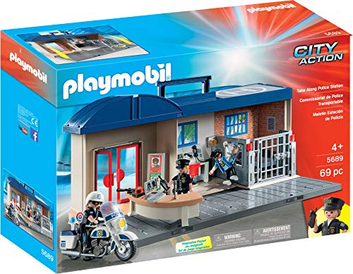 PLAYMOBIL City Action Koffer, Mehrfarbig (5689