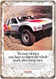 KODY HYDE Metall Poster - Toyota Motor Sports - Vintage