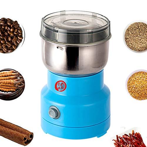 HFKL Multifunktions-Smash-Maschine Kleine Mühle Kornmühle Medizinische Materialien Kandiszucker Schleifpulver Haushaltstrockenmühle Bohnenpulver Kaffee Würze Pudern Maschine