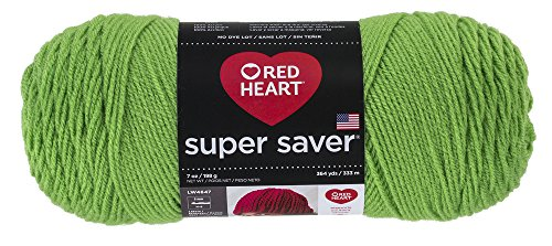 Red HeartSuper Saver Yarn, Spring Green