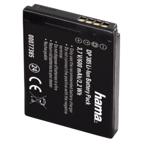 Hama 77385 - Batería Recargable para cámara Panasonic DMW-BCH7E/DMC-FP1 (Ion de Litio,...