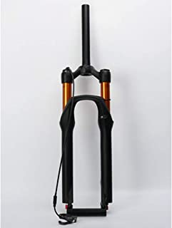 NoneBrand 26'' / 27.5''Alloy MTB Bicycle Shock Absorb Fork, Mountain Bike Air Suspension Front Fork, Fork for Bicycle Acc...