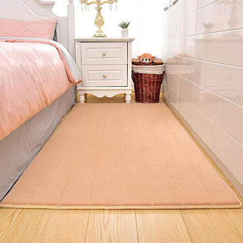 Review DROB Sponge Padded Baby Anti-Fall pad Bedside Rugs Baby Shatter-Resistant Floor mat Bedroom C...