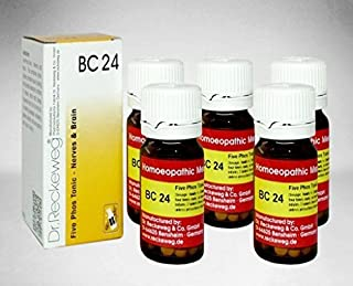 5 Pack X Dr.Reckeweg-Germany Biochemic Combination Tablet BC- 24 --