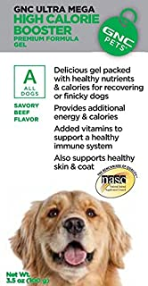 GNC Pets Ultra Mega High Calorie Booster for Dogs - 3.5 oz