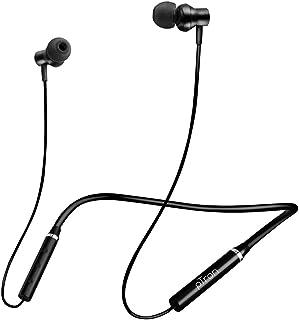 pTron Tangent Beats Bluetooth 5.0 Wireless Headphones with Deep Bass, Ergonomic Design, IPX4 Sweat/Waterproof Neckband, Ma...