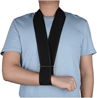 SupreGear Arm Sling, Lightweight Adjustable Neck Support Collar Immobilizer Simple Arm Sling Breathable Medical Shoulder Support for Injured Arm/Hand/Elbow
