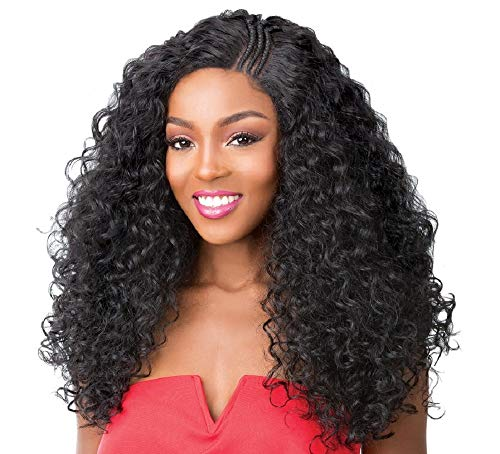 It's A Wig Synthetic Pre-Braided Side Part Lace Front Wig SWISS LACE T BRAIDED PART KANDEE (P4/27/30)