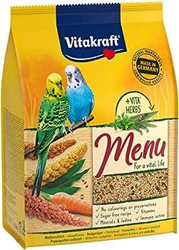 Vitakraft Menu - Alimentation complète pour Perruches - Sachet fraîcheur de 3kg