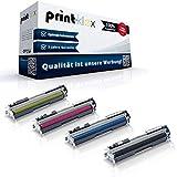 Print-Klex - Juego de 4 cartuchos de tóner compatibles con HP Color LaserJet Pro CP1026nw CP1027nw CP1028nw LaserJet CP1025Color CE310 CE311 CE312 CE312