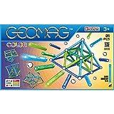 Geomag - Classic 263 Color, Constructions Magnétiques et Jeux Educatifs, GMC03, Multicolore, 91 Pièces