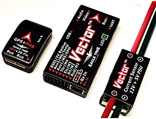 Eagle Tree Vector Flight Controller + OSD with Wire Leads (p/n: VEC-PKG-LEADS)