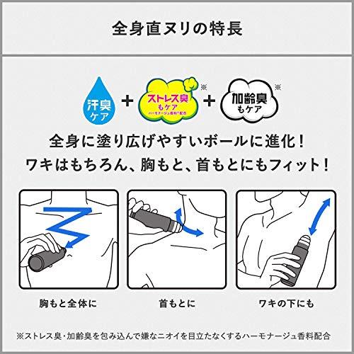 資生堂エージーデオ24『メンズデオドラントロールオングランデ(スタイリッシュシトラス)』