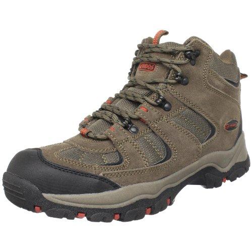 Nevados Men's Boomerang II Mid Hiking Boot,Dark Brown/Red,12 M US