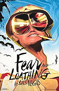 Beyond The Wall Fear and Loathing in Las Vegas Ralph Steadman Doctor Gonzo Hunter S. Thompson Film Comdedy Poster Print 24 by 36