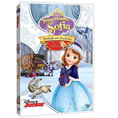 DVD Princesinha Sofia - Feriado em Encantia