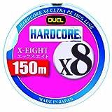 デュエル(DUEL) ライン(PE): HARDCORE X8 150m 1.2号 W: ホワイト